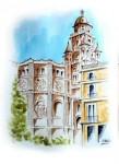 Obras de arte: Europa : España : Murcia : Murcia_ciudad : PLAZA APOSTOLES-MURCIA-