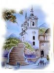 Obras de arte: Europa : España : Murcia : Murcia_ciudad : VISTA LATERAL SANTUARIO LA FUENSANTA