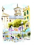 Obras de arte: Europa : España : Murcia : Murcia_ciudad : PLAZA DE LAS FLORES-MURCIA-