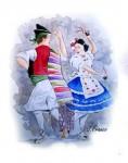 Obras de arte: Europa : España : Murcia : Murcia_ciudad : HUERTANOS BAILANDO