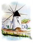 Obras de arte: Europa : España : Murcia : Murcia_ciudad : MOLINO QUINTIN-LO PAGAN-MURCIA-