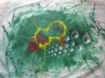 Obras de arte: America : Argentina : Buenos_Aires : General_Belgrano : gatos verdes