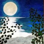 Obras de arte: Europa : España : Andalucía_Málaga : Malaga_ciudad : Noche de Alborán