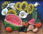 Obras de arte: America : México : Mexico_Distrito-Federal : iztapalapa : bodegon con flores