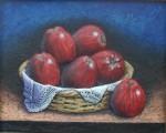 Obras de arte: America : México : Mexico_Distrito-Federal : iztapalapa : canastas con manzanas