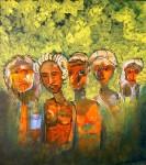 Obras de arte: America : Chile : Bio-Bio : Concepción : Rehenes en el puente America