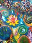 Obras de arte: America : Colombia : Santander_colombia : Bucaramanga : LOTO EN LLAMAS