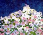 Obras de arte: Europa : Espa�a : Andaluc�a_M�laga : Malaga_ciudad : Nocturno con flores