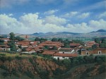 Obras de arte: America : México : Mexico_Distrito-Federal : iztapalapa : Paisaje Michoacano