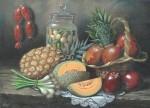 Obras de arte: America : México : Mexico_Distrito-Federal : iztapalapa : Bodegon con piña
