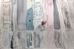 Obras de arte: Europa : España : Catalunya_Barcelona : ir_a_paso_2 : Mujer asomada al balcón
