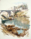 Obras de arte: Europa : España : Castilla_La_Mancha_Toledo : Toledo : A orillas del Tajo