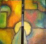 Obras de arte: America : Colombia : Antioquia : Envigado : Abstracto 2