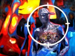 Obras de arte: America : Perú : Lima : Barranco : mototaxi