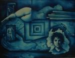 Obras de arte: America : México : Chihuahua : ciudad_chihuahua : azul