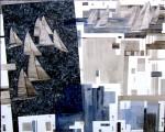 Obras de arte: Europa : España : Catalunya_Girona : La_Escala : MARTES EN JULIO POR MEDITERRANEO