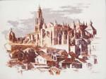 Obras de arte: Europa : España : Castilla_La_Mancha_Toledo : Toledo : Catedral (tejados)