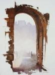 Obras de arte: Europa : España : Castilla_La_Mancha_Toledo : Toledo : Niebla sobre el río