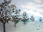 Obras de arte: Europa : España : Andalucía_Málaga : Malaga_ciudad : Alameda de árboles a pleno sol