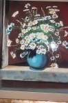 Obras de arte: Europa : España : Euskadi_Bizkaia : barakaldo : margaritas en la ventana