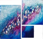 Obras de arte: Europa : España : Catalunya_Tarragona : Reus : INSPIRACIÓ EN BLAU ( Inspiracion en azul )