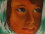 Obras de arte: America : Venezuela : Miranda : chacao : Joven con pañuelo