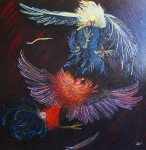 Obras de arte: America : México : Mexico_region : Nezahualcóyotl : gallos