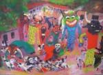 Obras de arte: America : Costa_Rica : Guanacaste : Tamarindo : GRAN MASCARADA SANTA CRUZ