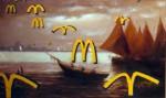 Obras de arte: Europa : Dinamarca : Kobenhavn : alb : Las águilas están llegando