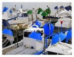Obras de arte: Europa : España : Cantabria : Santander : BARCOS EN ROJO