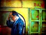 Obras de arte: America : Perú : Lima : Barranco : buss