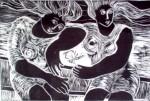 Obras de arte: America : Brasil : Parana : Curitiba : Comadres