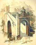 Obras de arte: Europa : España : Castilla_La_Mancha_Toledo : Toledo : El  Puente Romano
