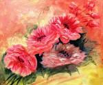 Obras de arte: America : Brasil : Parana : Curitiba : Rosas em rosa
