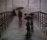 Obras de arte: America : Brasil : Sao_Paulo : Sao_Paulo_ciudad : Fría y lluviosa tarde - Sephia
