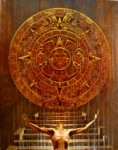 Obras de arte: America : México : Quintana_Roo : cancun : Piedra del sol