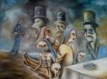 Obras de arte: Europa : Portugal : Viseu : Viseu_cidade : Os canibais