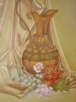 Obras de arte: America : Venezuela : Miranda : Caracas_ciudad : Jarròn con flores