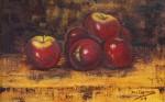 Obras de arte: Europa : España : Aragón_Zaragoza : zaragoza_ciudad : Bodegón manzanas