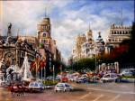 Obras de arte: Europa : Espa�a : Madrid : Las_Rozas : Calle de Alcal�. Madrid