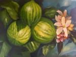 Obras de arte: America : Colombia : Santander_colombia : Bucaramanga : Bodegon natural de Limones