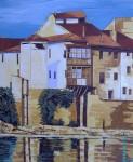 Obras de arte: Europa : España : Castilla_y_León_Burgos : Miranda_de_Ebro : Vistas al río