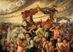 Obras de arte: America : M�xico : Jalisco : Guadalajara : la Caravana de la Reina