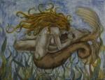 Obras de arte: America : México : Quintana_Roo : cancun : leucosia desgarrando a un hombre