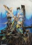 Obras de arte: America : Argentina : Buenos_Aires : Vicente_Lopez : Hojas de camino