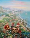 Obras de arte: Europa : España : Andalucía_Málaga : Velez_Málaga : el mar