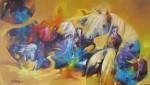 Obras de arte: America : Colombia : Santander_colombia : Bucaramanga : caballos2