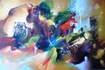 Obras de arte: America : Colombia : Santander_colombia : Bucaramanga : animales magicos
