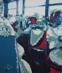 Obras de arte: America : Colombia : Antioquia : Medellín : En el bus