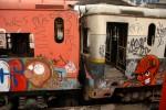 Obras de arte: America : Chile : Valparaiso : viña_del_mar : Trenes